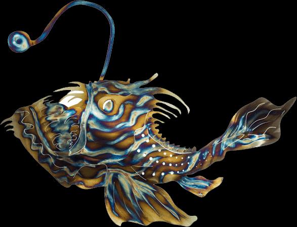 cheaper 88a5b 8ae38 angler-fish - Metal Fish 66